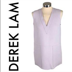👑 DEREK LAM 10 CROSBY LONG TOP /SHORT SHIFT DRESS